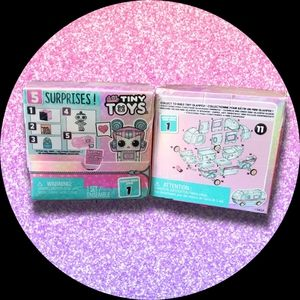 New L.O.L. Surprise Tiny Toys Set of 2